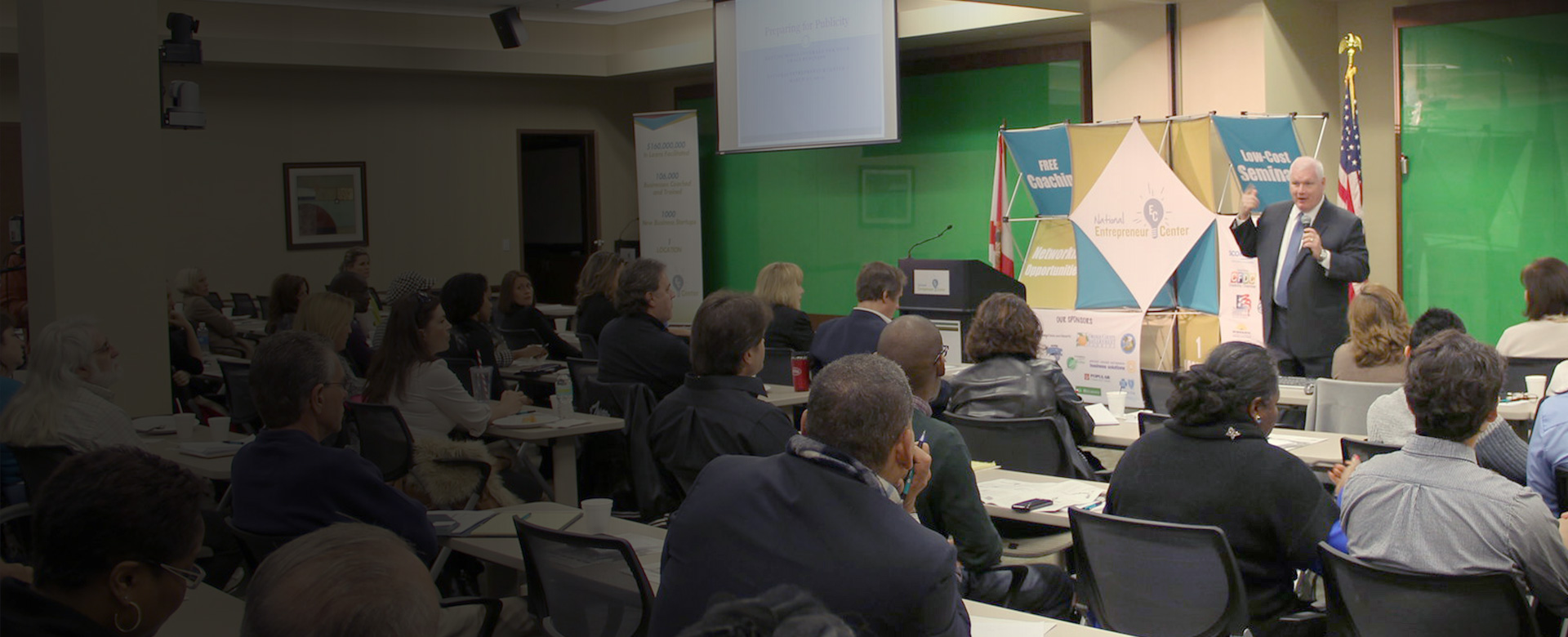 NEC is where businesses go to grow -- check out the seminars