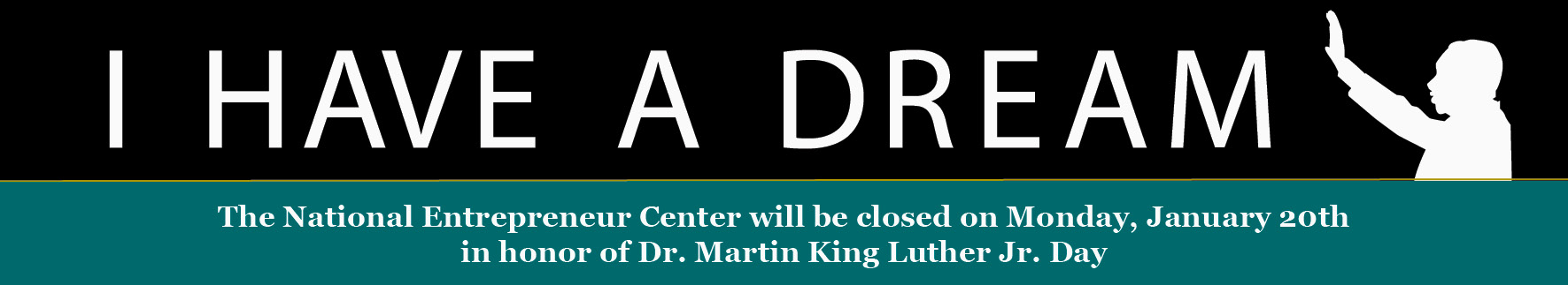 Closed MLK Day 1-20-20